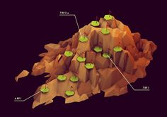 Low-Poly, Isometric Worlds by Tim Reynolds - RobotSpaceBrain