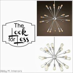 The Look for Less: Sputnik Chandelier | Abby M. Interiors