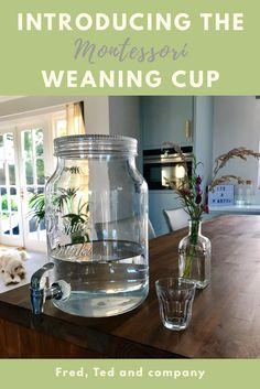 The introduction of the Montessori Weaning Cup is a milestone in a baby's journey to independence. In this post I'm looking at the why and the how of the process.