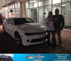 #HappyAnniversary to Kevin Mcray on your 2014 #Chevrolet #Camaro from Phillip Burnette at Crossroads Chevrolet Cadillac!