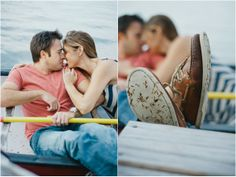 Lake Winnipesaukee Engagement Session by Briana Moore Photography