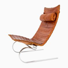 View this item and discover similar Lounge Chairs for sale at Pamono. Shop with global insured delivery at Pamono. Vintage Furniture, Outdoor Furniture, Outdoor Decor, Poul Kjaerholm, Barcelona Chair, Chairs For Sale, Mid Century Modern Design, Danish Design, Modern Chairs