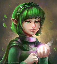 Saria by EternaLegend.deviantart.com on @DeviantArt