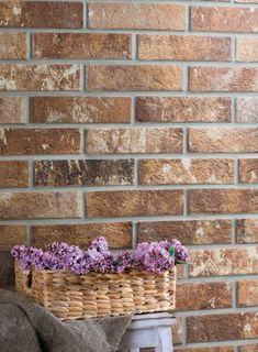 Add a rustic brick wall to your kitchen with our range of brick effect tiles