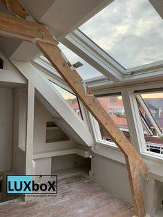 Loft Conversion Master Suite, Dormer Loft Conversion, Attic Master Bedroom, Attic Bedrooms, Loft Bathroom, Bohemian Living Rooms, Dormer Windows, Loft Interiors, Roof Window