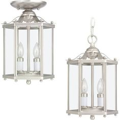 rustic hanging lanterns from ceiling - Google Search