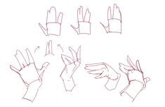 """Hand Gestures and Simplifying the Hand! """"Anatomy How to Draw by Leriisa #1"""" by Leriisa - CLIP STUDIO TIPS"""