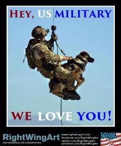 I support all branches of the military ... Past & Present!!