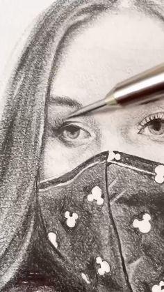 Cool Art Drawings, Art Drawings Sketches, Pencil Art Drawings, Pretty Art, Cute Art, Human Kindness, Cute Stories, Wow Art, Amazing Art
