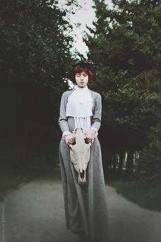 Lady and Death by NataliaDrepina.deviantart.com