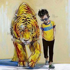 Tigre desde la cuna❤️