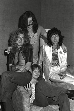 Led Zeppelin...just keep your hands to yourself, Jonesy!