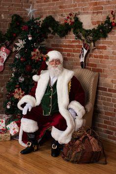 Santa's Looks - Santa Claus for hire Colorado Springs