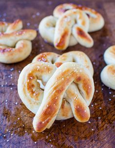 Soft Buttery One Hour Pretzels - Make these in an hour & save yourself a trip to the food court & save money, too! So good & so easy!