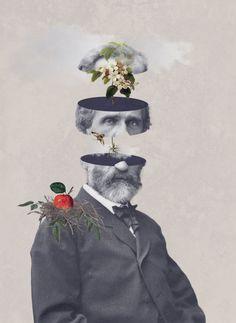 Julia Geiser surrealist collage