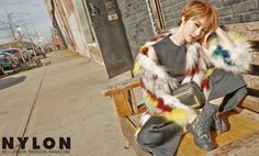 "Go Jun Hee Becomes the Standard of Cool and Stylish with ""Nylon"" Magazine Korean Star, Korean Girl, Go Jun Hee, Taking New York, Androgynous Fashion, Boyish, Korean Actresses, K Idols, Hanging Out"
