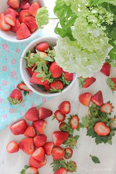 Gorgeous strawberries!