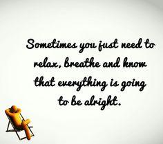Relax! Sweet Sunday! #sunday #sweetsunday #relax #breathe #alright #ok #chair #motivation #transformation #adventuresofjac
