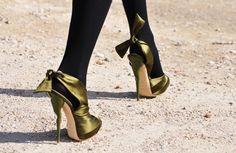 Spiral High Heels