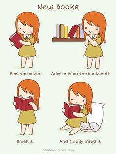 I have like never felt any other smell then paper from books.  Have you?
