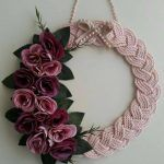 21 Beautifully Stylish Rope Projects That Will Beautify Your Life - Stacha Styles Jute Crafts, Wreath Crafts, Diy Arts And Crafts, Diy Wreath, Crafts To Make, Christmas Crafts, Diy Crafts, Finding A Hobby, Rope Art