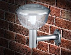 Outdoor Lights LED solar roestvrijstalen wandlamp