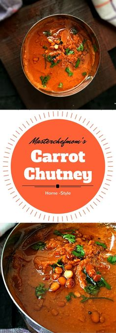 MASTERCHEFMOM: Home-Style Carrot Chutney | How to make Carrot Chutney at home | Everyday Ayurveda | Healthy Cooking