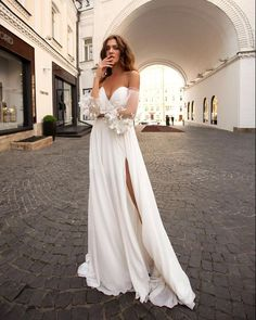 15 Awesome Strapless Wedding Dresses For Every Bride ❤ strapless wedding dresses a line whote with sleeves papilio #weddingforward #wedding #bride #weddingoutfit #bridaloutfit #weddinggown