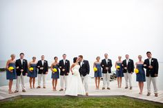 Cindy and Jeff's nautical wedding