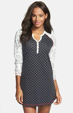 PJ Salvage Heart & Skull Nightshirt available at Plus Size Pajamas, Cute Pajamas, Sleepwear Women, Pajamas Women, Sleep Dress, Miss Me Jeans, Night Gown, Lounge Wear, Womens Fashion