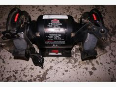 """Job Mate 6"""" Inch Bench Grinder Like New !!!!! (12457-11)"""