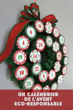 DIY K-Cup Advent Calendar - - Somewhere between having 2 kids and becoming a stay at home mom, I became a coffee drinker. I managed to make it through 4 years of university without touching a cup of coffee, but the sleepless n…. Advent Calendar Diy, Advent Calander, Homemade Advent Calendars, Advent Calendars For Kids, Christmas Calendar, Advent Calendar Toddler, Nordic Christmas, Modern Christmas, Reindeer Christmas
