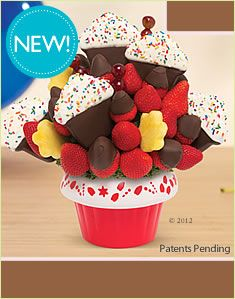 Cupcake Fruit Baskets, Gourmet Gift Baskets and Fruit bouquets by Edible Arrangements