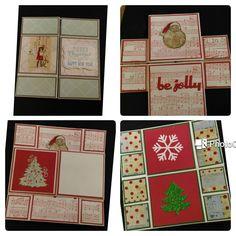 Christmas infinity card