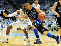 The Duke Blue Devils defeated North Carolina 69-53 Saturday, March 9, 2013 at the Smith Center.