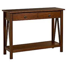 Marshall Console Table   Living Room Furniture  Furniture   World Market