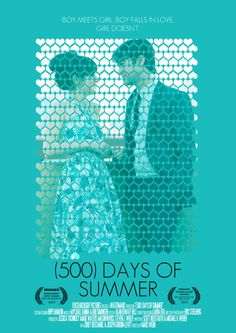 (500) Days of Summer / poster by Hector Pahaut