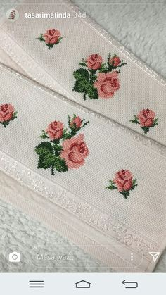 Etamin Embroidery Fashion, Hand Embroidery, Baby Girl Dresses, Bridal Dresses, Cross Stitch Patterns, Needlework, Erdem, Design, Cross Stitch Rose