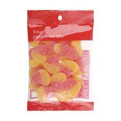 Sour Peach Hearts - 150g | KmartNZ