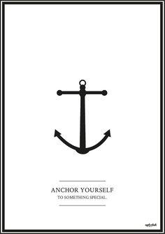 anchor yourself