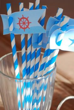 Nautical Sailboat Party & Baby Shower - Kara's Party Ideas - The Place for All Things Party