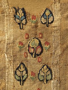 Linen and wool, Egypt, Byzantine period.