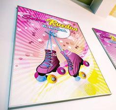 "Cartel del musical sobre la vida de Luna, ""Sobre Ruedas"" #poster #musical de gira nacional con On Beat Branding, Musical, Design, Pink, Corporate Identity, Photomontage, Editorial Design, Design Web, Wheels"
