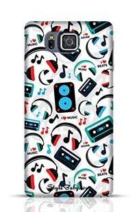 Music Lovers Samsung Galaxy Alpha G850 Phone Case