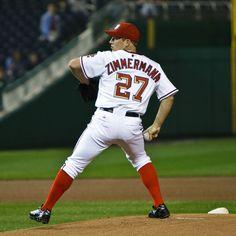 Jordan Zimmerman Washington Nationals pitcher