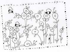 Embroidery Pattern from Barb Smith designer. jwt