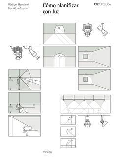 Handbook Of Lighting Design by Rüdiger Ganslandt and Harald Hofmann Arch Interior, Interior Lighting, Interior Decorating, Interior Design, Light Architecture, Architecture Details, Interior Architecture, Museum Lighting, Blitz Design