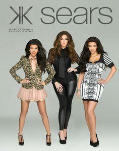 kim kardashian clothing line at sears   FIRST LOOK: The Kardashian's SEARS clothing line – complete with ...