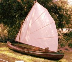Tom O Bedlam Sailing Canoe for the Everglades Challenge