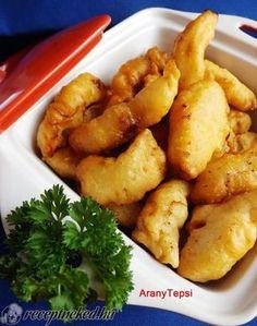 A legjobb Krémsajtos bundában sült csirkefalatok recept egyenesen a Receptneked.hu gyűjteményéből